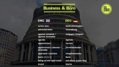 Business & Büro Nomen